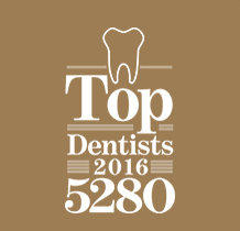 Top Dentist 5280 Award Aspen Dental Denver CO